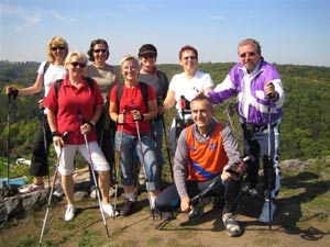 Nordic Walking v Šárce